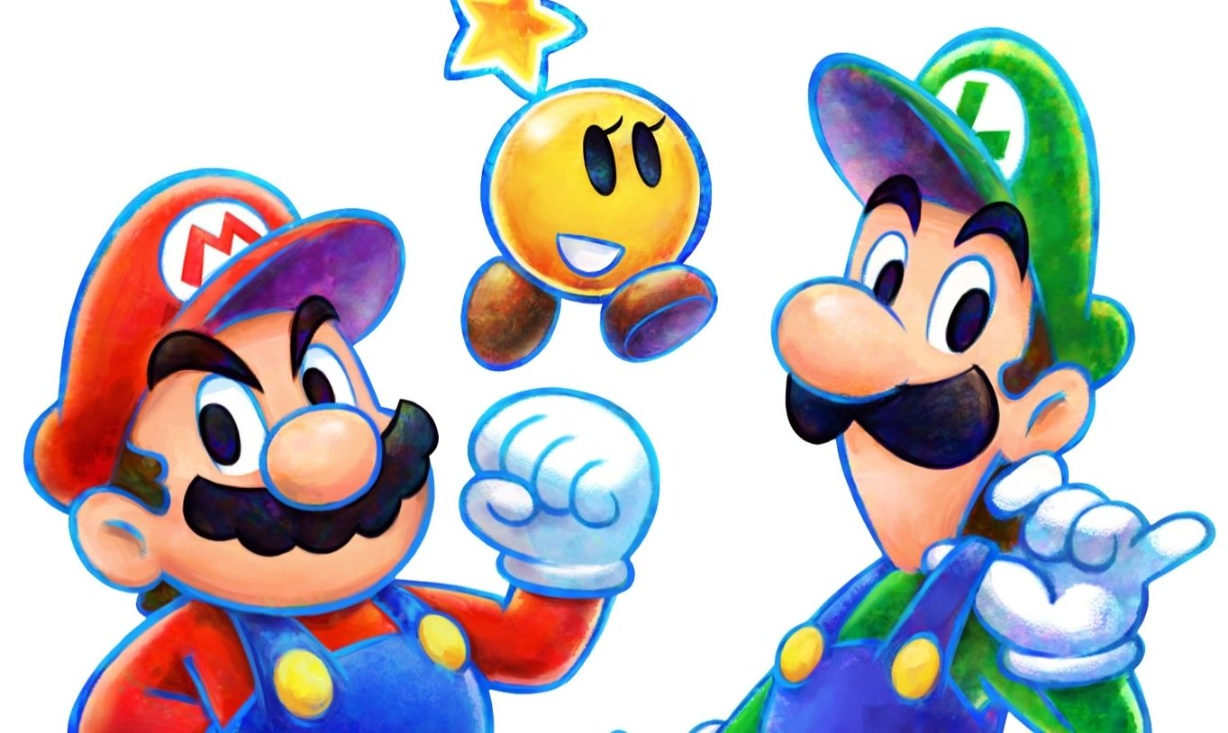 mario & luigi dream team bros slider