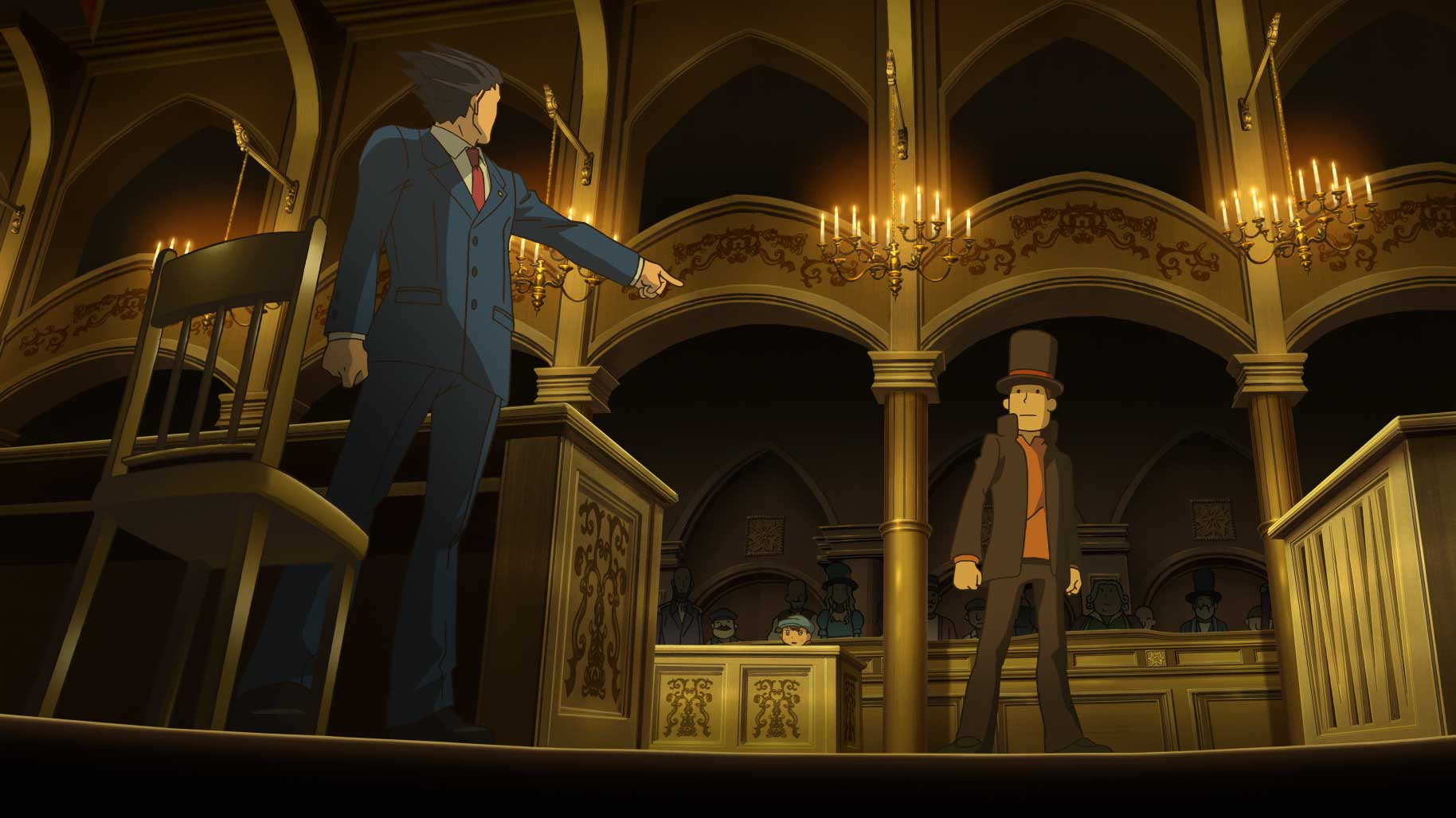 Prof. Layton vs Ace Attorney