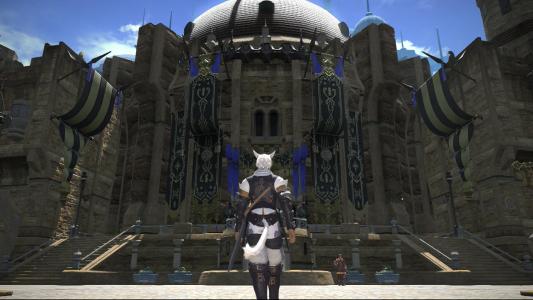 Final Fantasy A Realm Reborn Wüstenstadt