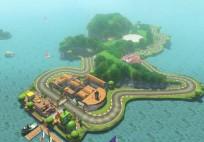 Mario Kart 8 - Yoshi DLC Strecke